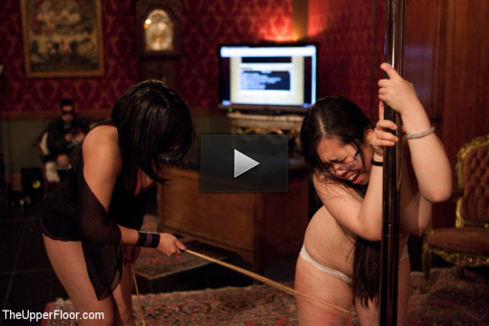 Real BDSM players discipline their slaves and have a new years orgy