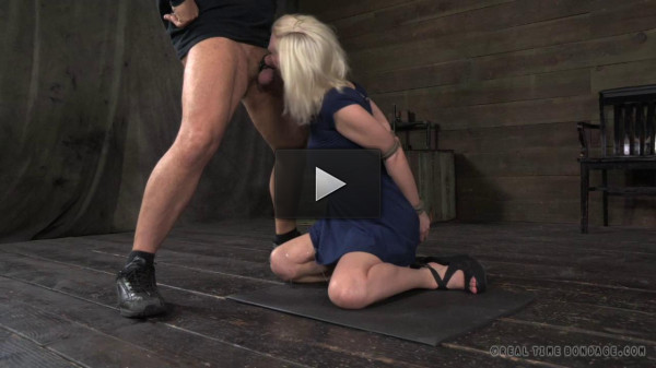 Tagteamed Cherry Torn utterly destroyed by cock!