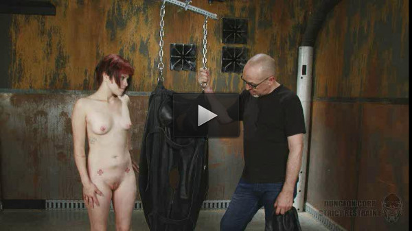 SI — Sandy Skarsgard — Suspended Leather Torment Part 2