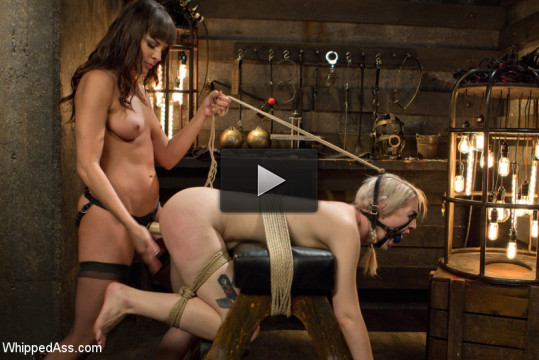 Ella Nova punished in Dana DeArmond's dungeon!