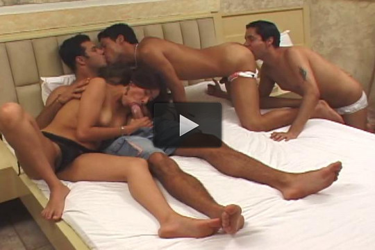 Bi Group Sex Club 4, scene 3