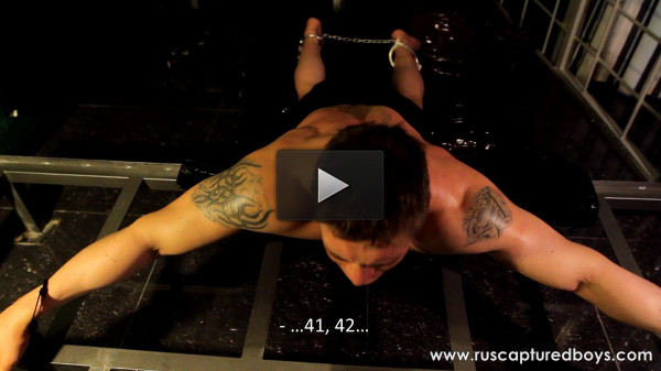 RusCapturedBoys — Bodybuilder Vasily in Jail — Final Part