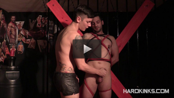 Hardkinks — BDSM Boys — Andrea Suarez, Angel Cruz, Fabio Testino