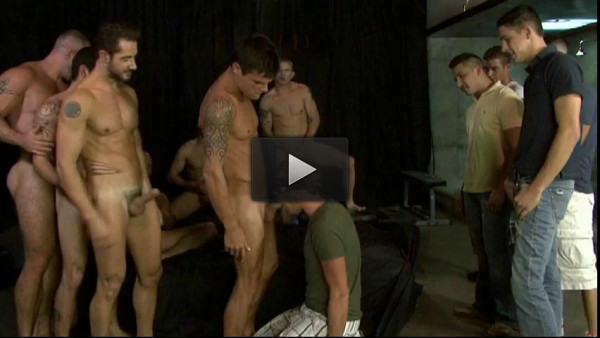 Frat Boy In Hard Orgy