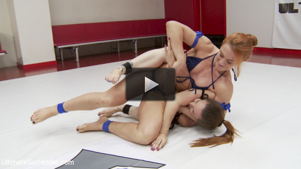 Brutal Leg Scissors, Brutal Double Control.Both girls Finger Hard