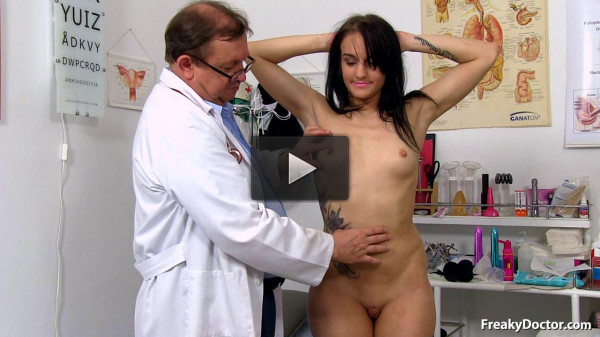 Angel Bay (22 years girls gyno exam)