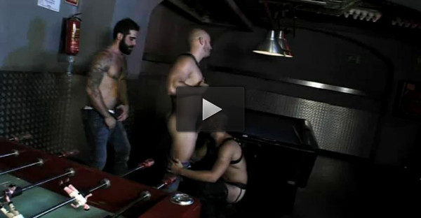 David, Tony And Yenier Like Fetish Relax