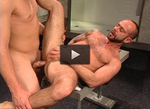 Hard Anal At Locker Room...