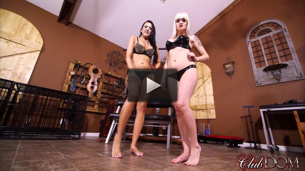 Dahila Rain and Alexis Grace — Toy for Two Sadists