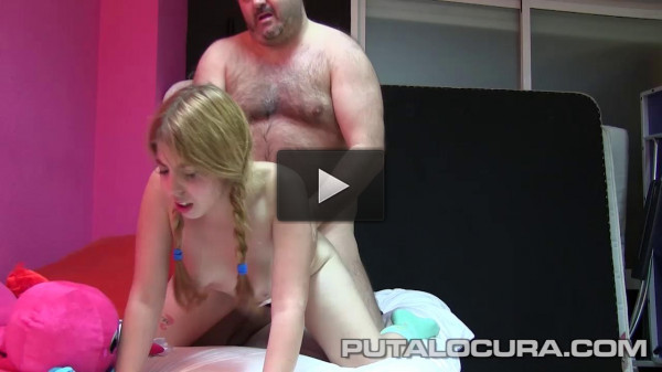 Blondie with braids fucked