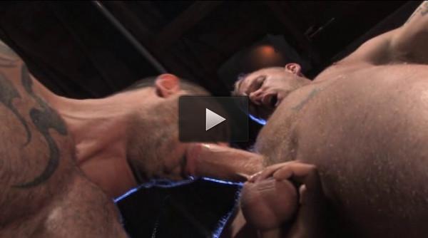 Muscle & Ink (stallion studios, muscle men, anal sex).