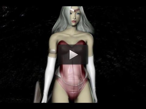 Labyrinth Sophia — Hot 3d HD Video