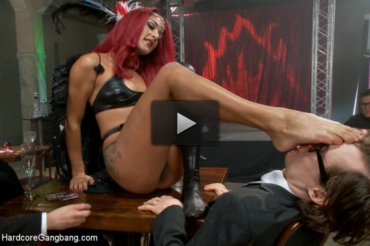 Is It Worth Your Soul?? Sexy Succubus hell bent on gang-bang to top them all!!