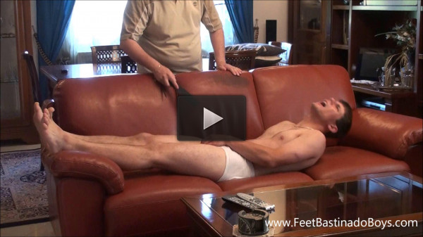 Feet and Spanking (Lukas Liz. part 1)