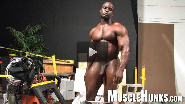 Power Men Muscle Hunks Barry Marshall