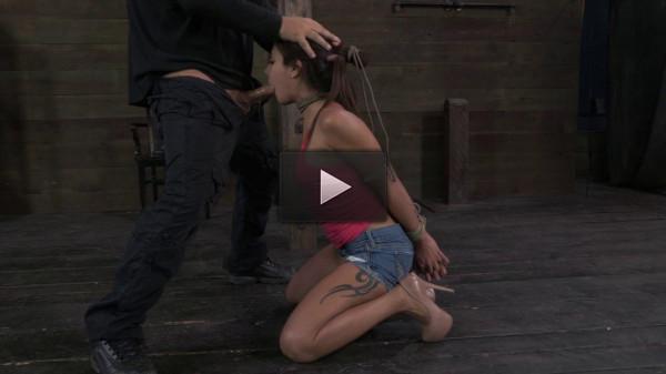 Hot Latina Jynx Maze suffers Rope Bondage
