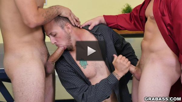 Hot Threesome in the Office (720p)