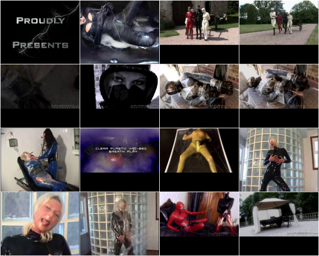BDSM Latex RubberEva 2007-2015 Videos, Part 2