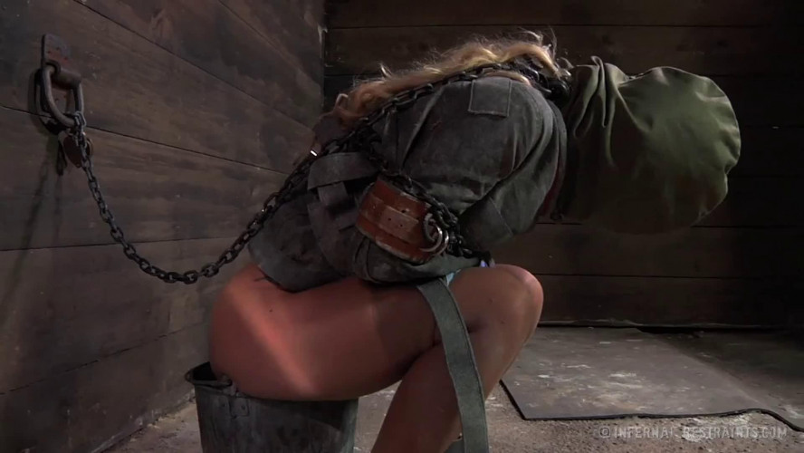BDSM Bondage, strappado, spanking and torture for bitch part 1 Full HD 1080p