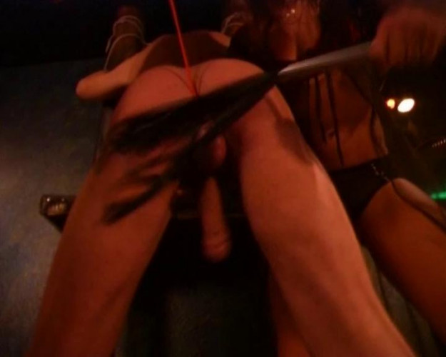 Femdom and Strapon Meaty toy for dommes