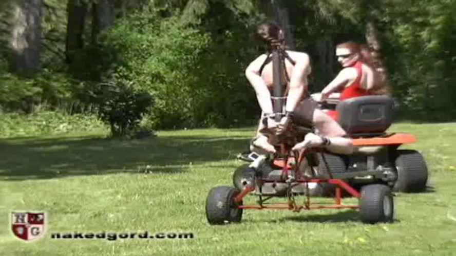 BDSM Latex Houseofgord -  Dee Saddle Fuck Machine