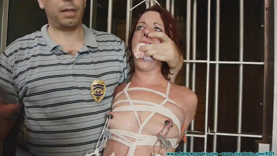 BDSM Fayth, Big City Girl Arrested by 2 Hick Cops - Part 3