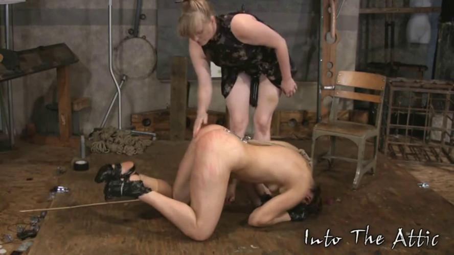 BDSM Tight bondage, spanking and torture for naked slavegirl part 1 HD 1080p
