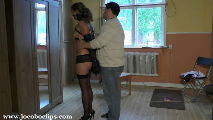 BDSM Rough Bondage For Sexy Girl Juliette