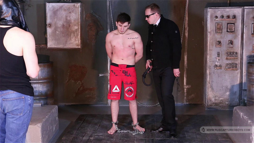 Gay BDSM Magnificent 47 Clips Ruscapturedboys. Part 4.