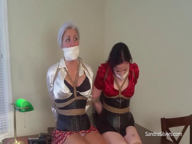 BDSM Sandra Silvers, Caroline Pierce
