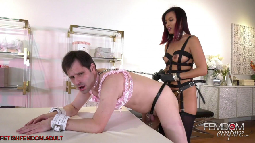 Femdom and Strapon Deep Dick Strap On - Goddess Asia Perez - Full HD 1080p