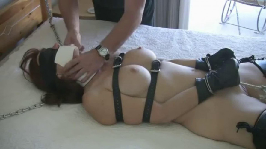 BDSM Super bondage and domination for very horny hot brunette Full HD 1080p