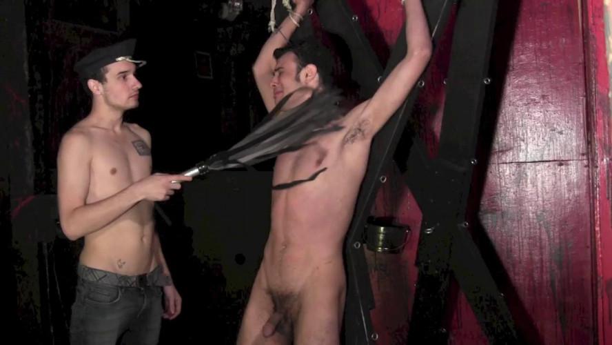 Gay BDSM Tied Down Part 4