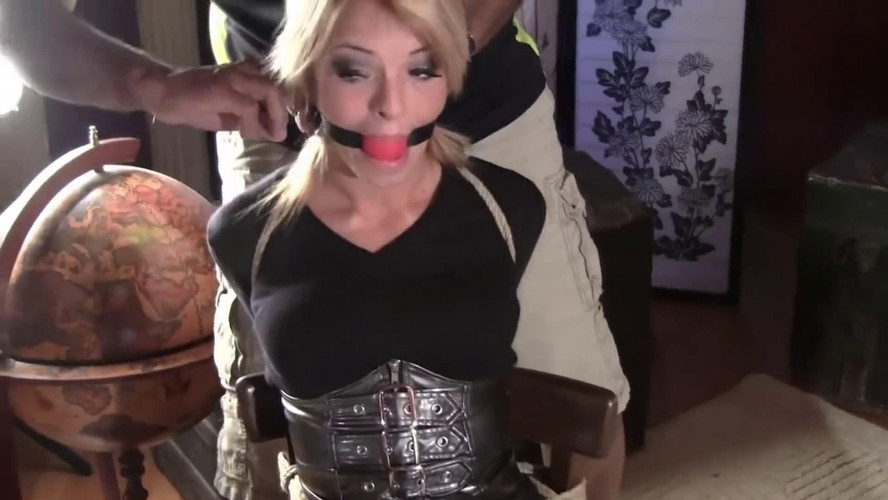 BDSM Latex Super bondage, domination and strappado for two hot girls Full HD 1080p