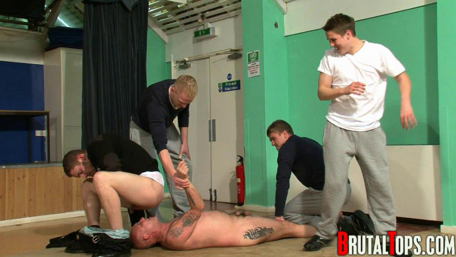 Gay BDSM Session 43 - Masters Terry, Toby, Lee & John