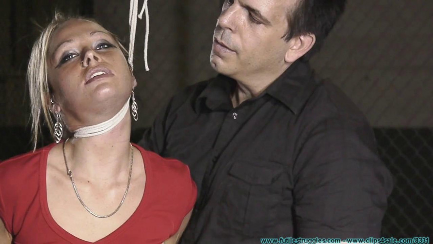 BDSM Good Old Fashioned tight Hogtie for Adara - Part 1