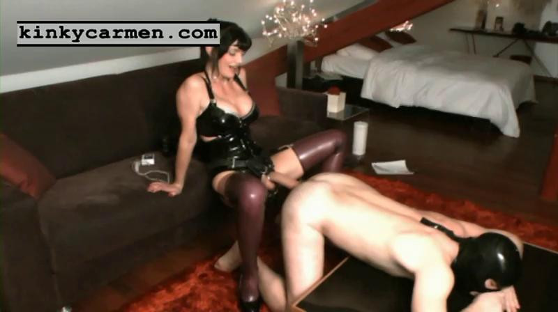 Femdom and Strapon Kinky Carmen Nice Mega Sweet Perfect Vip Collection. Part 1.