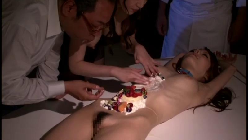 Asians BDSM Hotel livestock maid and devil