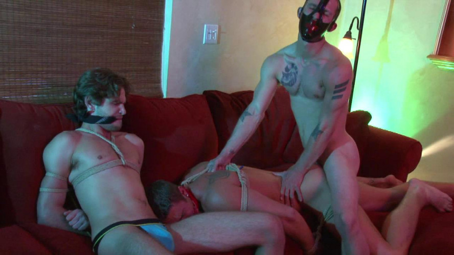 Gay BDSM Nakedsword  A Wicked Game Episode 4 Fucked To Be Tied