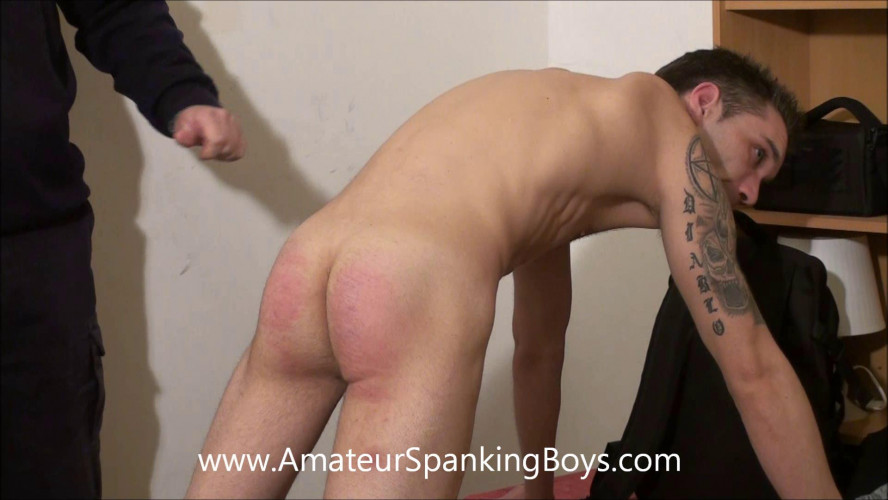 Gay BDSM Patrick Caning