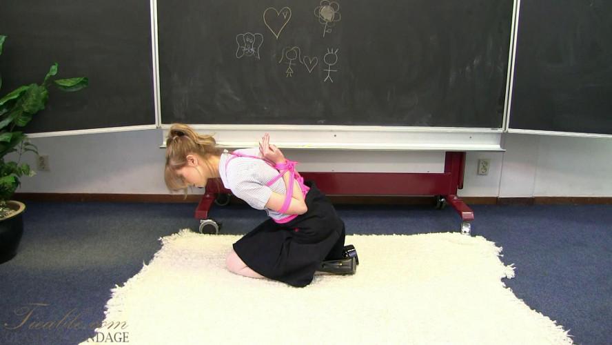BDSM Abigail - school girl reverse prayer