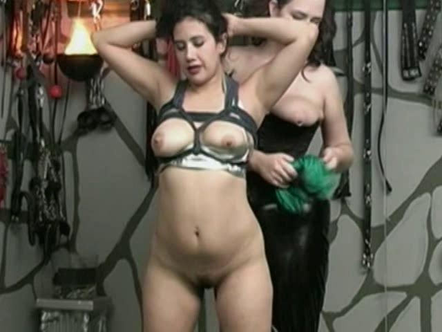 BDSM Latex The Suspension