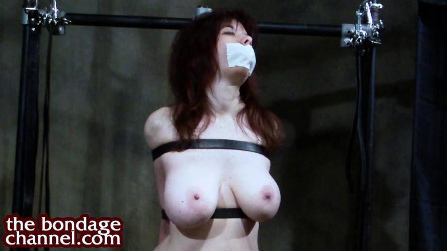 BDSM TheBondageChannel - Huge Jugs Orgasm Predicament