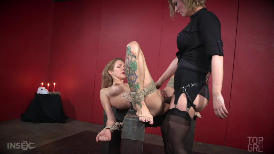 BDSM Restless night for busty slave Rain DeGrey