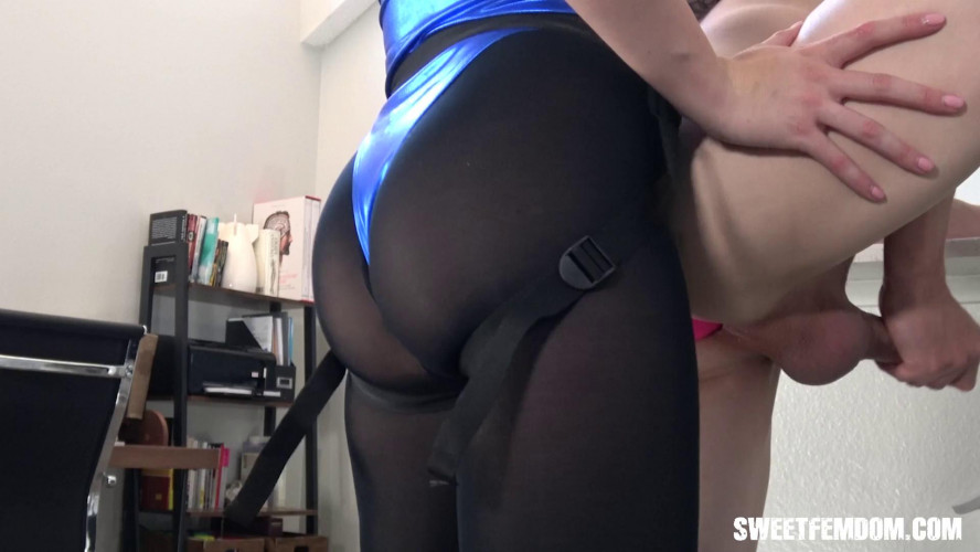Femdom and Strapon Charlotte Sins - Her Little Fuck Toy