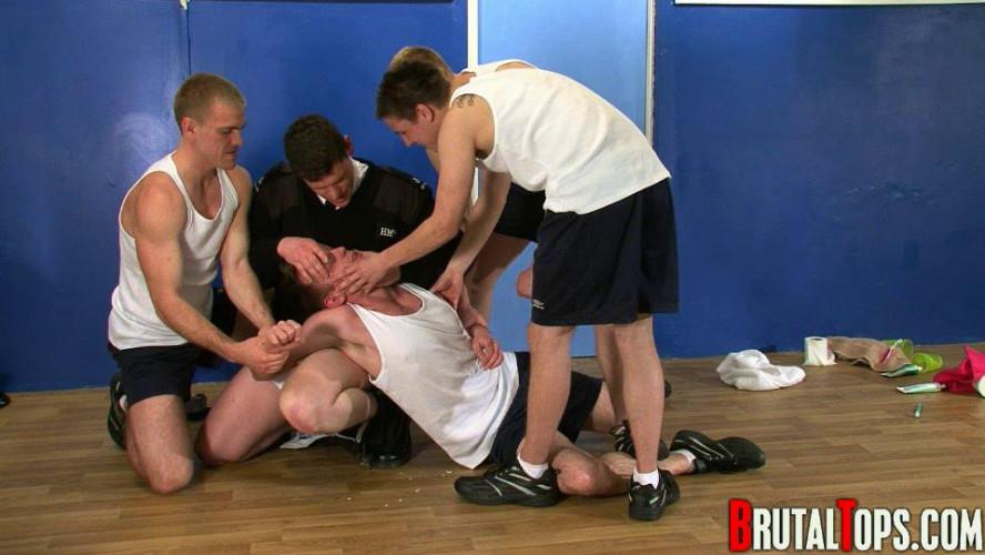Gay BDSM Brutal Tops - Prison Toilets Bullies