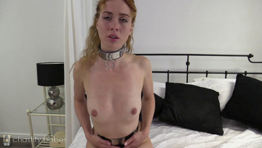 BDSM Chastity Babe Polina – nipple clamps Challenge
