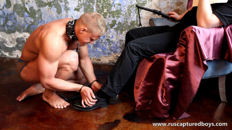 Gay BDSM Slave Vasily - Returned to Correct - II