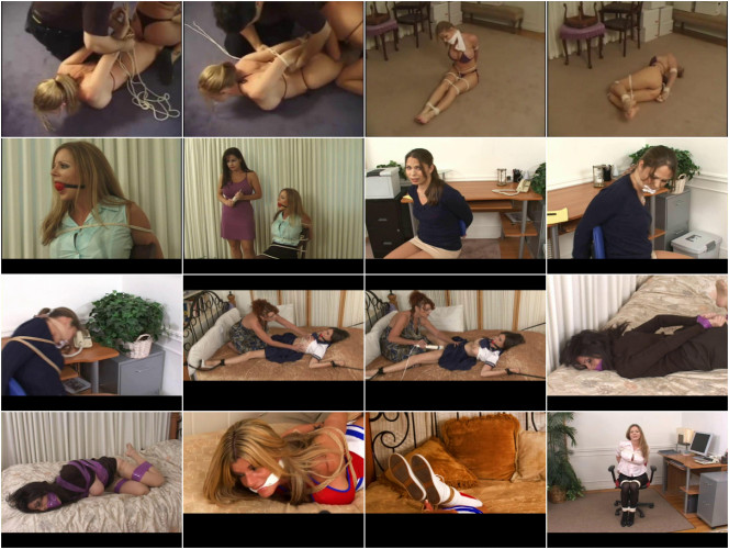 BDSM Unreal Excellent Nice Sweet Collection Of American Damsels. Part 2.