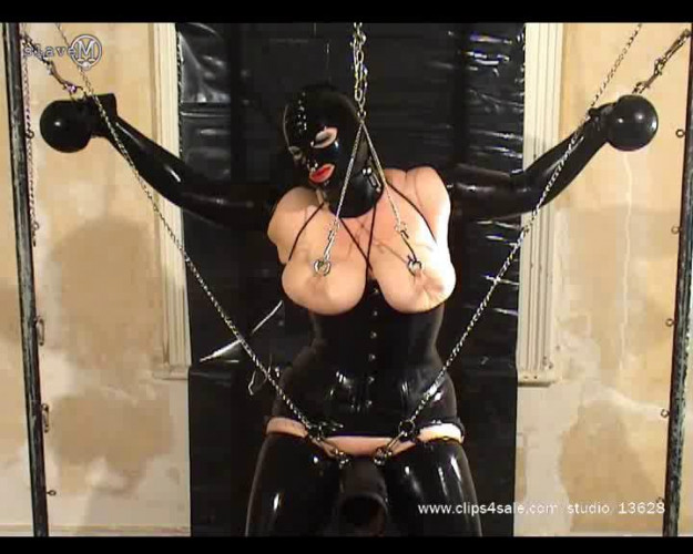 BDSM Latex Slave M Excellent Vip New Perfect Sweet Gold Collection. Part 2.